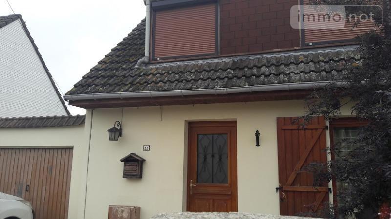 Maison a vendre Ribécourt-Dreslincourt 60170 Oise 5 pièces 167400 euros