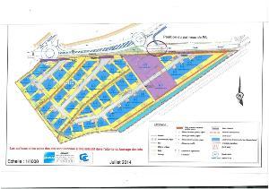 Terrain a batir a vendre Landerneau 29800 Finistere 457 m2  39900 euros