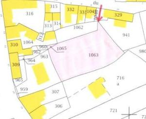 Terrain a batir a vendre Irvillac 29460 Finistere 1100 m2  58150 euros