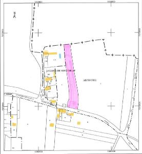 Terrain a batir a vendre Sains 35610 Ille-et-Vilaine 3900 m2  43300 euros