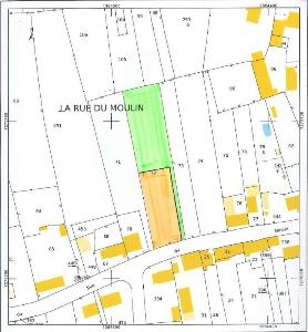 Terrain a batir a vendre Saint-Georges-de-Gréhaigne 35610 Ille-et-Vilaine 1150 m2  30289 euros