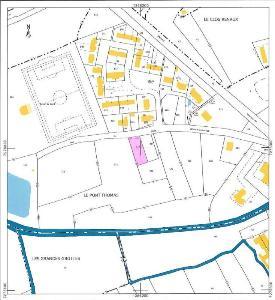 Terrain a batir a vendre Saint-Broladre 35120 Ille-et-Vilaine 625 m2  26712 euros