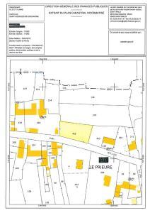 Terrain a batir a vendre Saint-Georges-de-Gréhaigne 35610 Ille-et-Vilaine 1000 m2  37100 euros