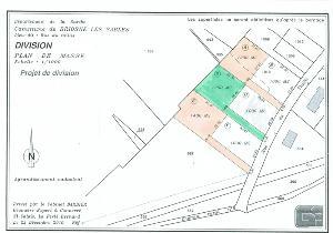 Terrain a batir a vendre Briosne-lès-Sables 72110 Sarthe 1200 m2  24380 euros