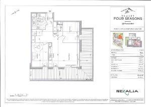 Appartement a vendre Châtel 74390 Haute-Savoie 66 m2 3 pièces 410695 euros