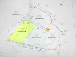 Terrain a batir a vendre Lanmeur 29620 Finistere 1332 m2  30740 euros