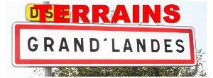 Terrain a batir a vendre Grand'Landes 85670 Vendee 410 m2  26500 euros