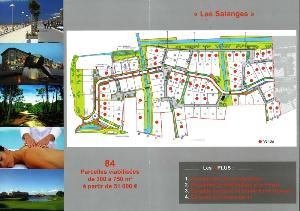 Terrain a batir a vendre Saint-Jean-de-Monts 85160 Vendee 413 m2  84000 euros