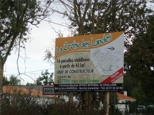 Terrain a batir a vendre Bois-de-Céné 85710 Vendee 521 m2  38000 euros
