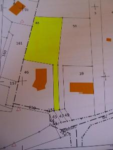 Terrain a batir a vendre Fontvannes 10190 Aube 1240 m2