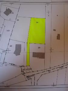 Terrain a batir a vendre Fontvannes 10190 Aube 1288 m2  74336 euros