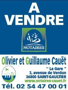 Terrain a batir a vendre Saint-Gaultier 36800 Indre 1379 m2  15900 euros
