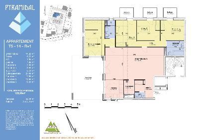 Appartement a vendre Bourg-en-Bresse 01000 Ain 125 m2 5 pièces 393000 euros