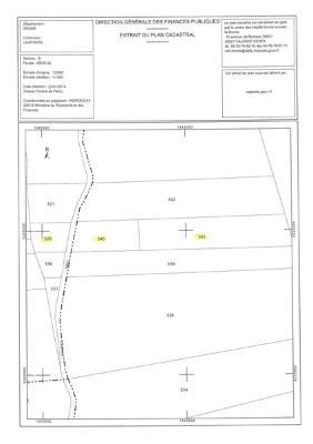 Terrains de loisirs bois etangs a vendre Laveyron 26240 Drome 3670 m2  5000 euros