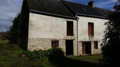 Maison a vendre Plumaudan 22350 Cotes-d'Armor 70 m2 2 pièces 53210 euros