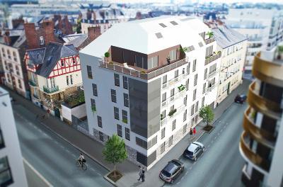 Appartement a vendre Rennes 35000 Ille-et-Vilaine 35 m2 2 pièces 174412 euros