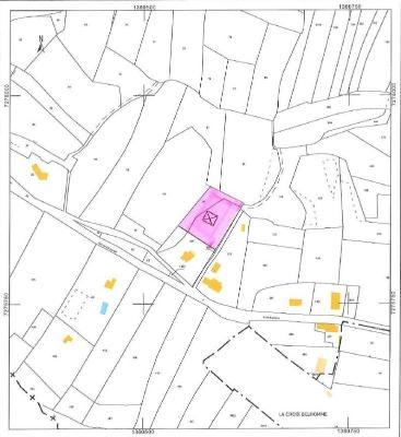 Terrain a batir a vendre Roz-sur-Couesnon 35610 Ille-et-Vilaine 2000 m2  94072 euros