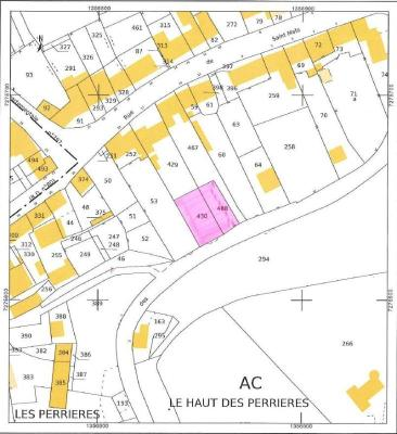Terrain a batir a vendre Saint-Broladre 35120 Ille-et-Vilaine 564 m2  21200 euros