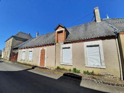 Maison a vendre Paudy 36260 Indre 70 m2 4 pièces 53000 euros