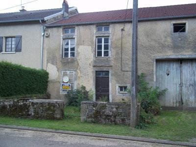 Maison a vendre Ninville 52800 Haute-Marne 3 pièces 17000 euros