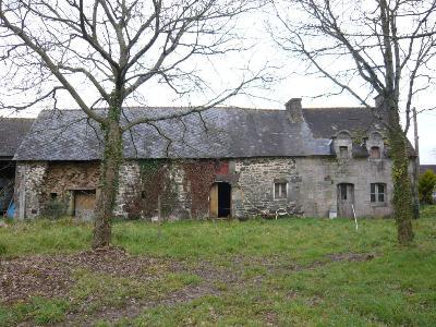 Maison a vendre Neulliac 56300 Morbihan 2 pièces 72893 euros