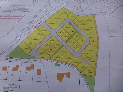 Terrain a batir a vendre Pontivy 56300 Morbihan 24000 m2  15 euros