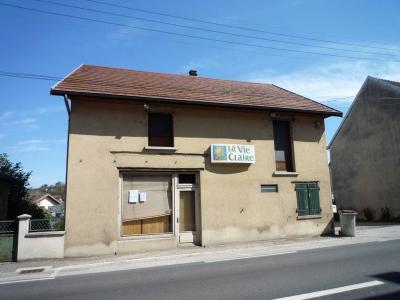 Fonds et murs commerciaux a vendre Montmorot 39570 Jura 100 m2  74000 euros