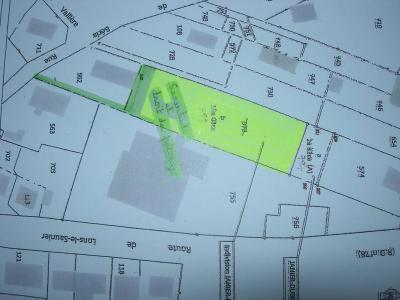 Terrain a batir a vendre Clairvaux-les-Lacs 39130 Jura 1800 m2  68500 euros