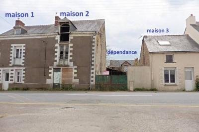 Maison a vendre La Meilleraye-de-Bretagne 44520 Loire-Atlantique 70 m2 6 pièces 119822 euros