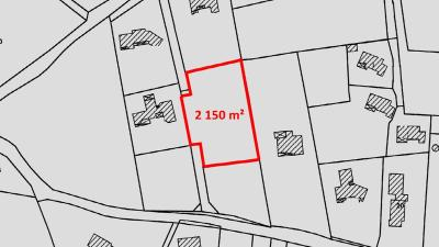 Terrain a batir a vendre Figeac 46100 Lot 2351 m2  94500 euros