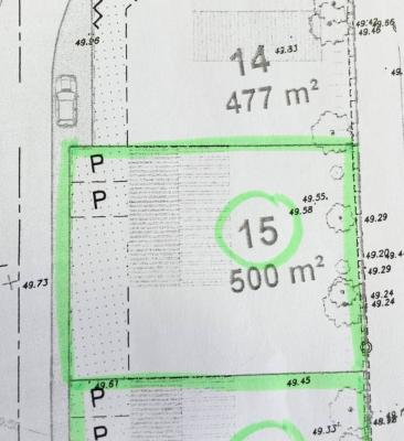 Terrain a batir a vendre Le Girouard 85150 Vendee 500 m2  34980 euros