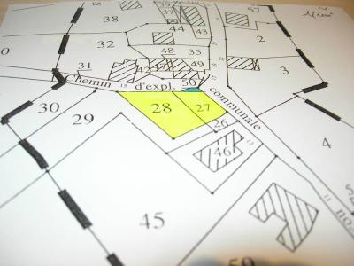 Terrain a batir a vendre Bonlieu 39130 Jura  14000 euros