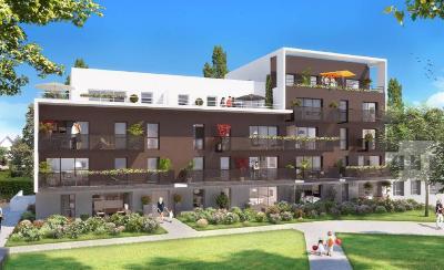 Appartement a vendre Vern-sur-Seiche 35770 Ille-et-Vilaine 60 m2 3 pièces 192000 euros
