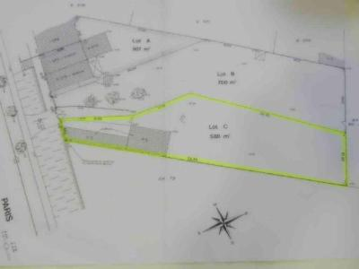 Terrain a batir a vendre Claye-Souilly 77410 Seine-et-Marne 588 m2  217700 euros