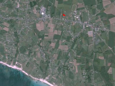 Terrain a batir a vendre Plouhinec 29780 Finistere 1450 m2  47700 euros