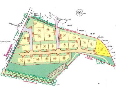 Terrain a batir a vendre Ploudaniel 29260 Finistere 707 m2  67000 euros