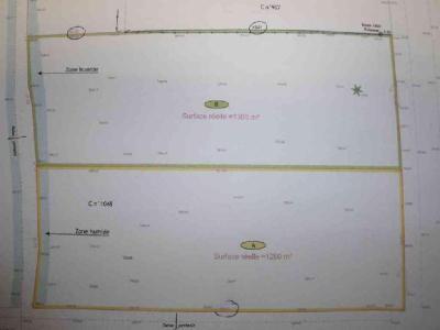 Terrain a batir a vendre Garlan 29610 Finistere 1305 m2  68580 euros