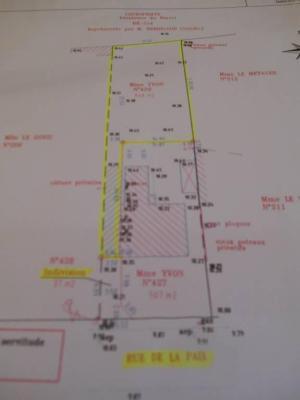 Terrain a batir a vendre Pontivy 56300 Morbihan 646 m2  47933 euros