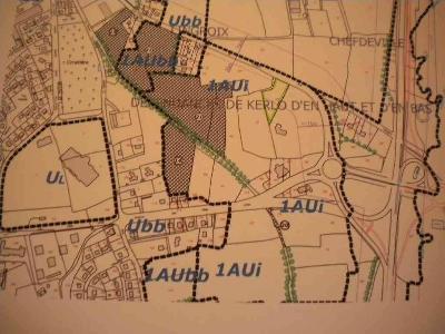 Terrain a batir a vendre Pontivy 56300 Morbihan  124153 euros