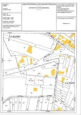 Terrain a batir a vendre Davenescourt 80500 Somme 523 m2  32160 euros