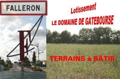 Terrain a batir a vendre Falleron 85670 Vendee 535 m2  37100 euros