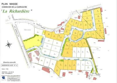 Terrain a batir a vendre La Garnache 85710 Vendee 397 m2  38054 euros