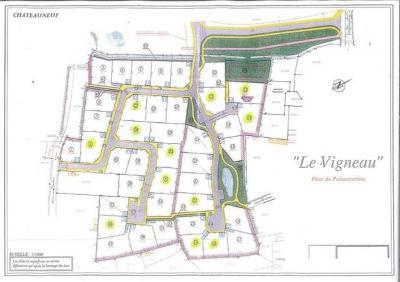Terrain a batir a vendre Châteauneuf 85710 Vendee 673 m2  32102 euros