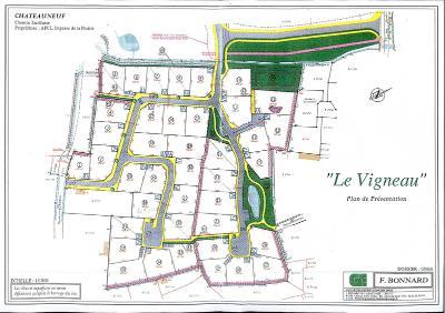 Terrain a batir a vendre Châteauneuf 85710 Vendee 824 m2  53000 euros