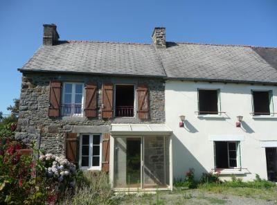 Maison a vendre Plesder 35720 Ille-et-Vilaine 120 m2 6 pièces 124972 euros