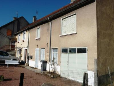 Maison a vendre Épinac 71360 Saone-et-Loire 4 pièces 30000 euros