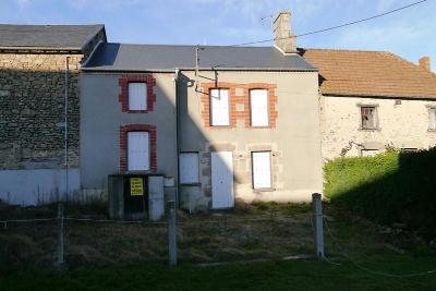 Maison a vendre Jarnages 23140 Creuse 4 pièces 42400 euros