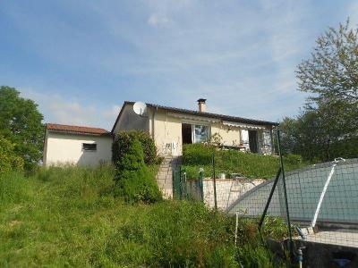 Maison a vendre Lacapelle-Viescamp 15150 Cantal 83 m2 6 pièces 168000 euros