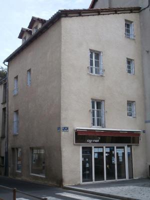Immeuble de rapport a vendre Saint-Flour 15100 Cantal 107 m2  205000 euros