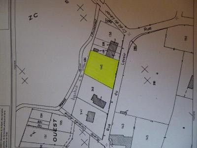 Terrain a batir a vendre Chennegy 10190 Aube 1045 m2  29680 euros